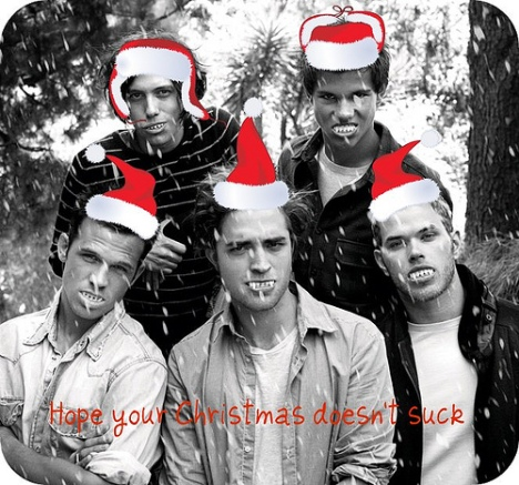 Merry Christmas from the Twi-boys