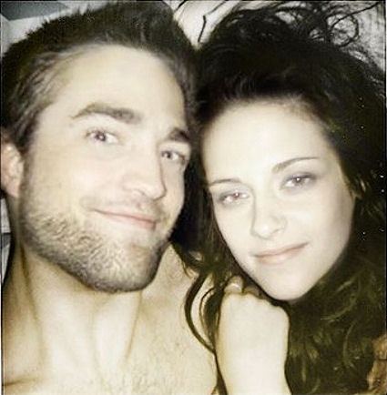 Kristen Steward  Robert Pattinson on Robert Pattinson And Kristen Stewart In Bed