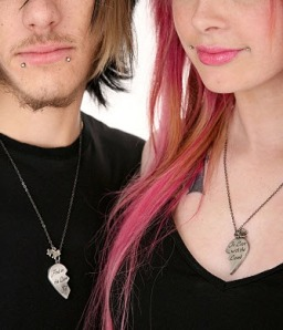 if you can get a dude to wear his n her lion n lamb necklaces you have far bigger problems than the recession