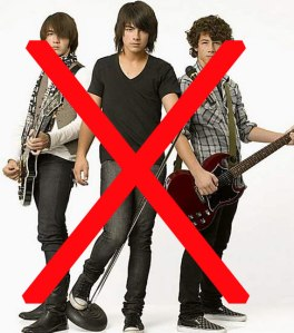 friends don't let friends put JoBros on the Soundtrack