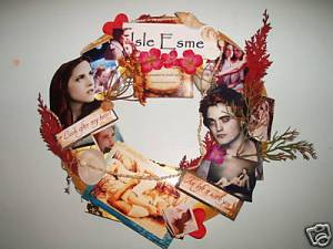 Hm.. Friday Night, what should I do? Oh, I know! I'll make an Isle Esme wreath and sell it on Ebay for $30