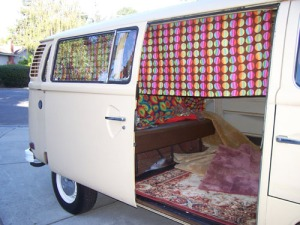 Bed in van