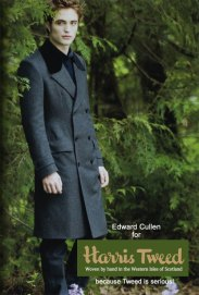 Edward Cullen in Tweed