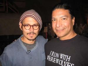 Even Johnny freakin' Depp appreciates Gil!