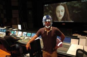 chris weitz football and helmet