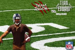 NFL Team Jacob vs Team Edward