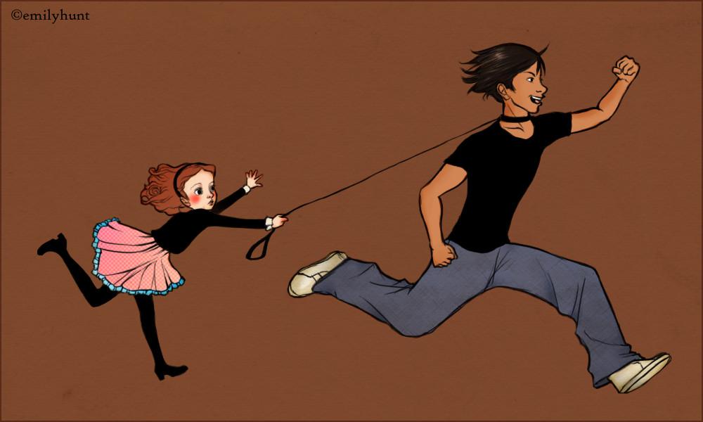 Jacob And Renesmee Fan Art